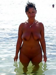 Mature beach, Amateur mature, Beach mature