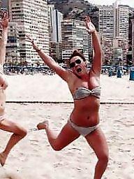 Bikini, Public, Public slut, Young sluts, Public nudity, Public flash