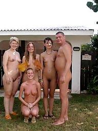Beach, Old, Public nudity, The public