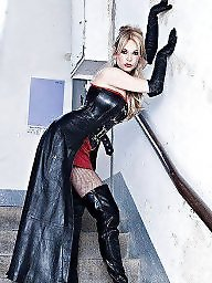 Mature, Latex, Pvc, Leather, Boots, Mature boots