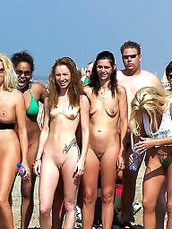 Topless, Nude