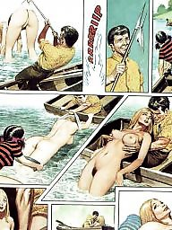 Comix, Boat, Blonde cartoons