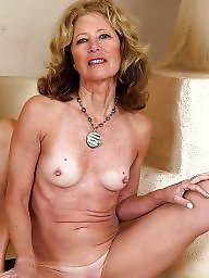 Hairy mature, Trio, Mature hot