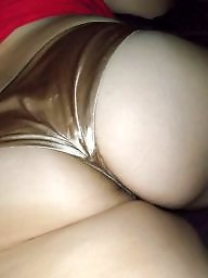 Satin, Panty, Panty ass, Amateur panties, Satin panties, Wife ass