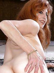 Mature ass, Mature redhead, Redhead mature