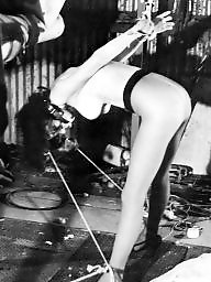 Retro, Punish, Vintage bdsm, Punishment, Punished, Pantyhosed