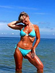 Mature beach, Beach mature, Sun, Mature love