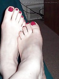 Feet, Interracial amateur