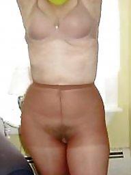 Pantyhose ass, Pantyhose, A bra