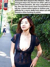 Caption, Mom caption, Asian mature, Mom captions, Moms, Asian milf