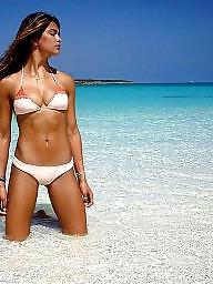 Bikini, Teen bikini, Beach
