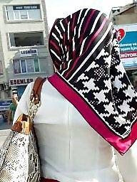 Turban, Turkish, Turkish hijab, Upskirts, Hidden, Turbans