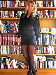 Boots, Leather, Amateur teen, Milf leather, Boot
