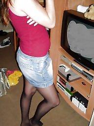 Teen stockings,  teen, Amateur stocking