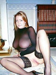 Mature, Lingerie, Mature lingerie, Stockings mature