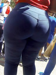 Bbw ass, Candid ass