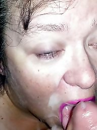 Bbw facial, Facials, Red, Slut wife, Sluts, Amateur facial