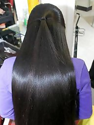 Hair, Asian black