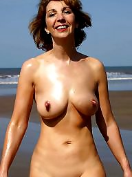 Nudist, Nudists, Public flashing, Public beach, Milf flashing, Beach milf
