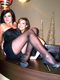 Nylons, Nylon upskirt, Amateur stocking, Amateur nylon, Nylon stockings