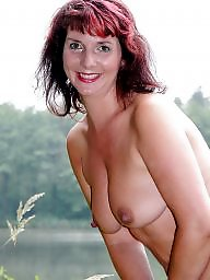Sexy, Lake, Milf mature, Mature posing