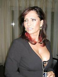 Mature public, Big mature, Ladies, Big boobs mature