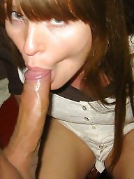Sperm, Blowjob amateur