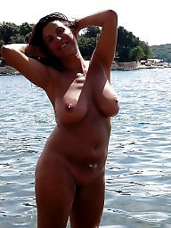 Chubby, Nudist, Nudists, Beach, Bbw beach