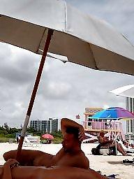 Beach, Nude beach, Beach voyeur, Voyeur beach, Wife beach, Nude wife