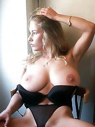 Tits, Busty, Big nipple