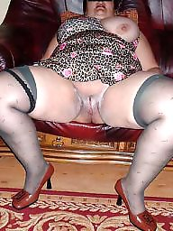 Spreading, Bbw spread, Bbw spreading, Shaved, Spread, Bbw stockings