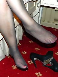 Tight, Wife, Stocking feet, Amateur pantyhose, Amateur feet, Amateur stockings
