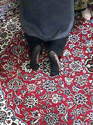 Anal, Turban, Nylon, Socks, Hijab nylon, Hijab anal