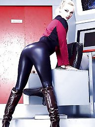 Latex, Leather, Boots