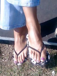 Candid, Milf feet