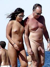 Nude beach, Nude