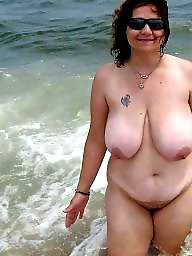 Mature beach, Beach mature, Mature big boobs