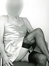 Stockings, Vintage, Amateur stockings, Vintage amateur, Slips