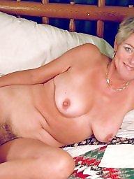 Hairy milf, Sexy mature