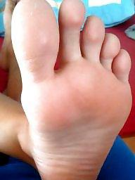 Feet, Greek, Candid