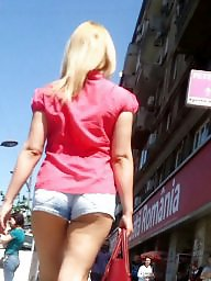 Jeans, Spy, Short, Shorts, Romanian, Hot teen