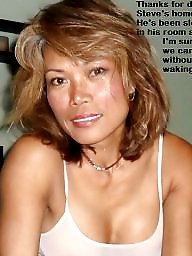 Asian mature, Captions, Mature asian, Mature asians, Asian milf, Mature caption
