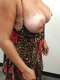 Old, Flash, Flashing, Busty, Mature big boobs, Wife