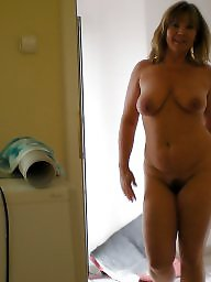 German, Wife flashing, Milf hairy
