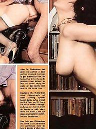 Vintage, Magazine, Vintage hairy, Group sex