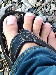 Feet, Lesbian babe