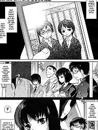 Glasses, Hentai, Manga, Glass