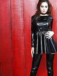 Latex, Boots, Leather, Femdom, Boot