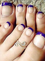 Finger, Fingered, Blue