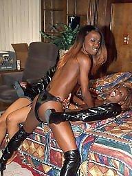 Lesbian, Black, Lesbian anal, Twins, Ebony anal